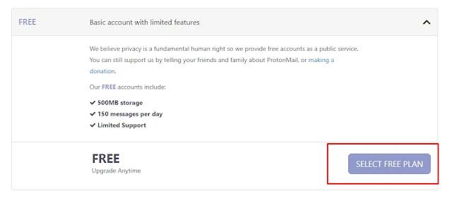 احصل على اقوى ايميل مشفر تقدر تستخدمها بأمان على الانترنت بكل سهوله | ProtonMail