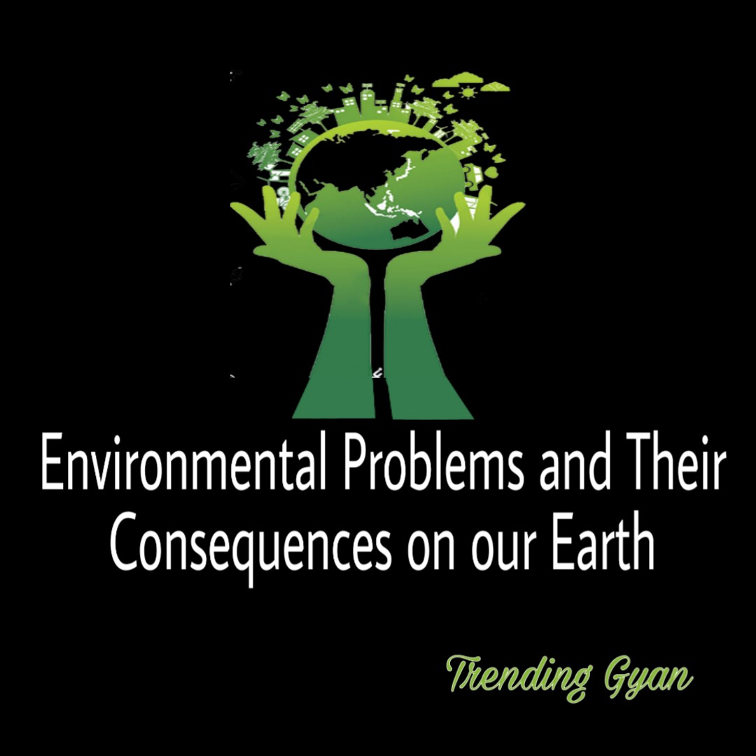 Environmental Problems and Their Consequences on our Earth