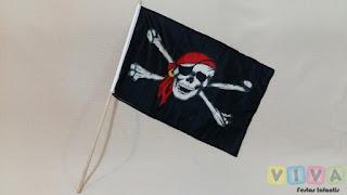 Locação Bandeirinha Pirata Porto Alegre
