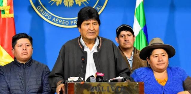 Ada Peran Amerika Serikat Di Balik Pengunduran Diri Presiden Bolivia Evo Morales?