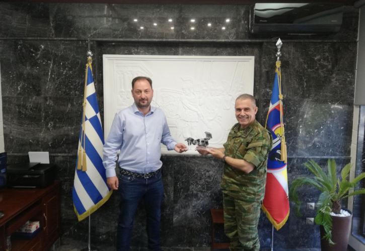 Ξάνθη: Δωρεά ΔΕΔΑ για την ενίσχυση του Δ΄ Σώματος Στρατού