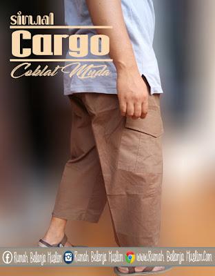 Sirwal Cargo Coklat Muda