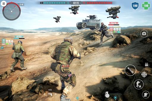 تحميل لعبة Country War Battleground Survival v1.6 مهكرة وكاملة للاندرويد أخر اصدار