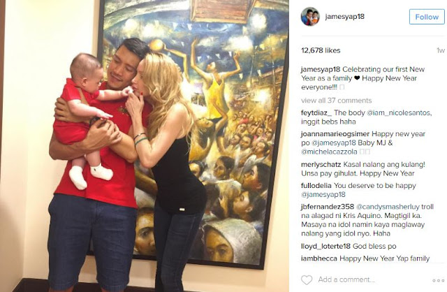 Did James Yap and Fiancée Michela Cazzola Invite Ex-Wife Kris Aquino to Their Son's Baptism? Find out Here!