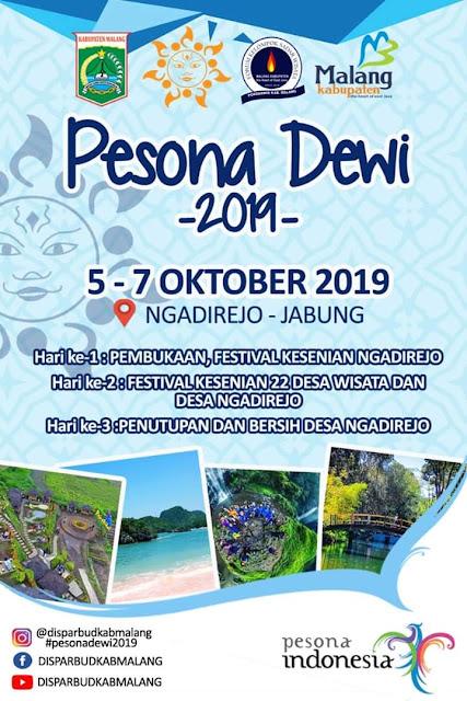 Pesona Dewi 2019 Pesona Kesenian Ngadirejo