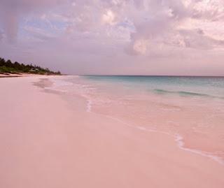 Inilah,Tujuh, Pantai, Berpasir, Merah, Muda, Di, Dunia