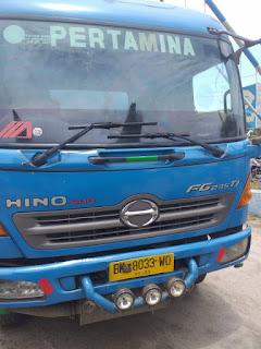 Truk Tangki Tabrak Sepeda Motor di Jalinsum Medan-Tebingtinggi, 2 Tewas di TKP