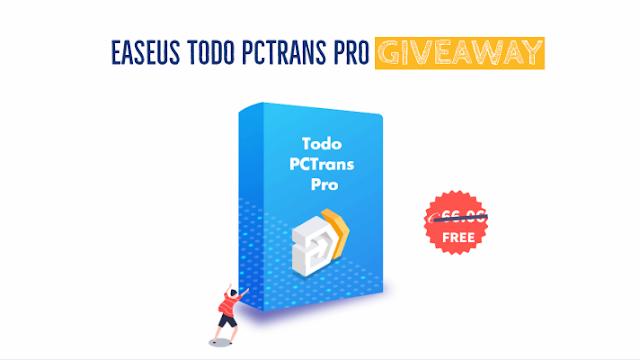 EaseUS Todo PCTrans Pro - free license
