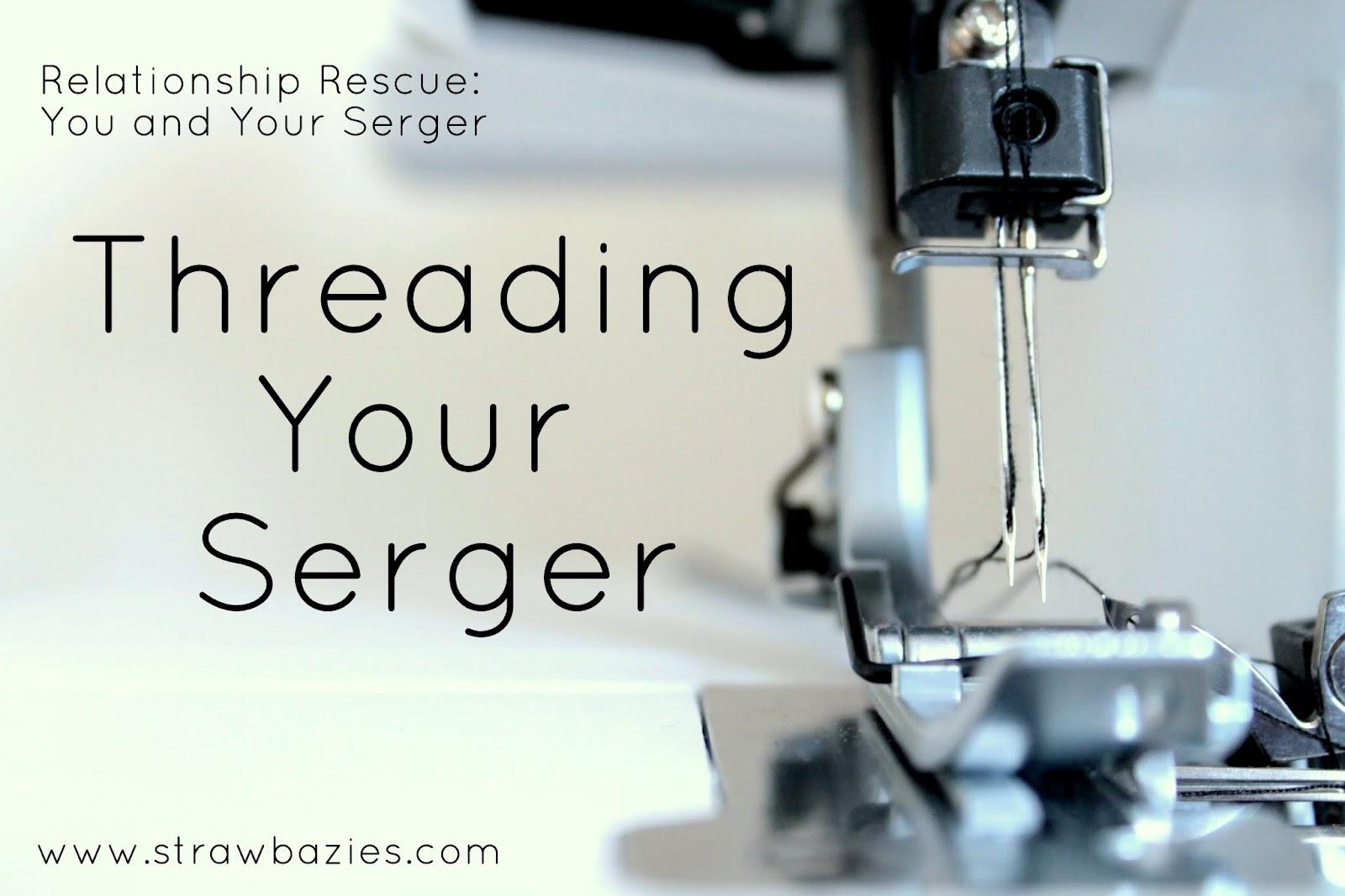 Threading Your Serger or Overlocker