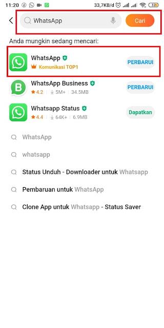 Cara Memperbarui Whatsapp yang Kadaluarsa 4