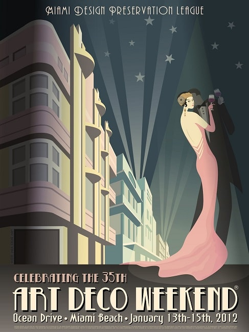 Berbagai Macam Aliran Gaya Style Desain Grafis/Graphic Design Style - Art Deco Style