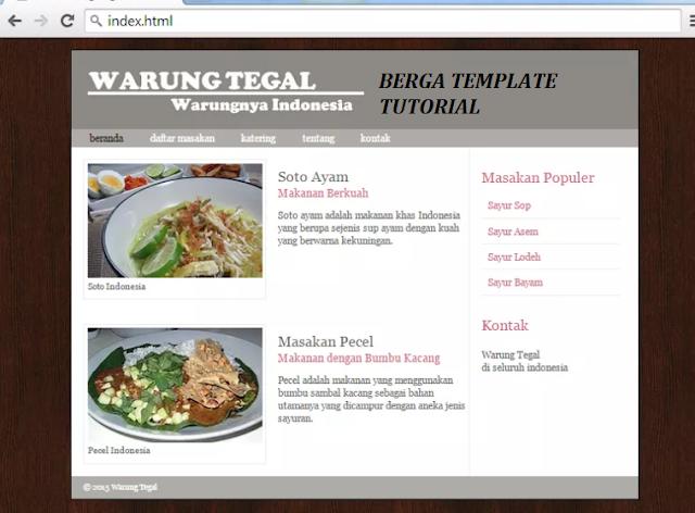 Cara Berga Membuat Website Sederhana dengan Script HTML 5