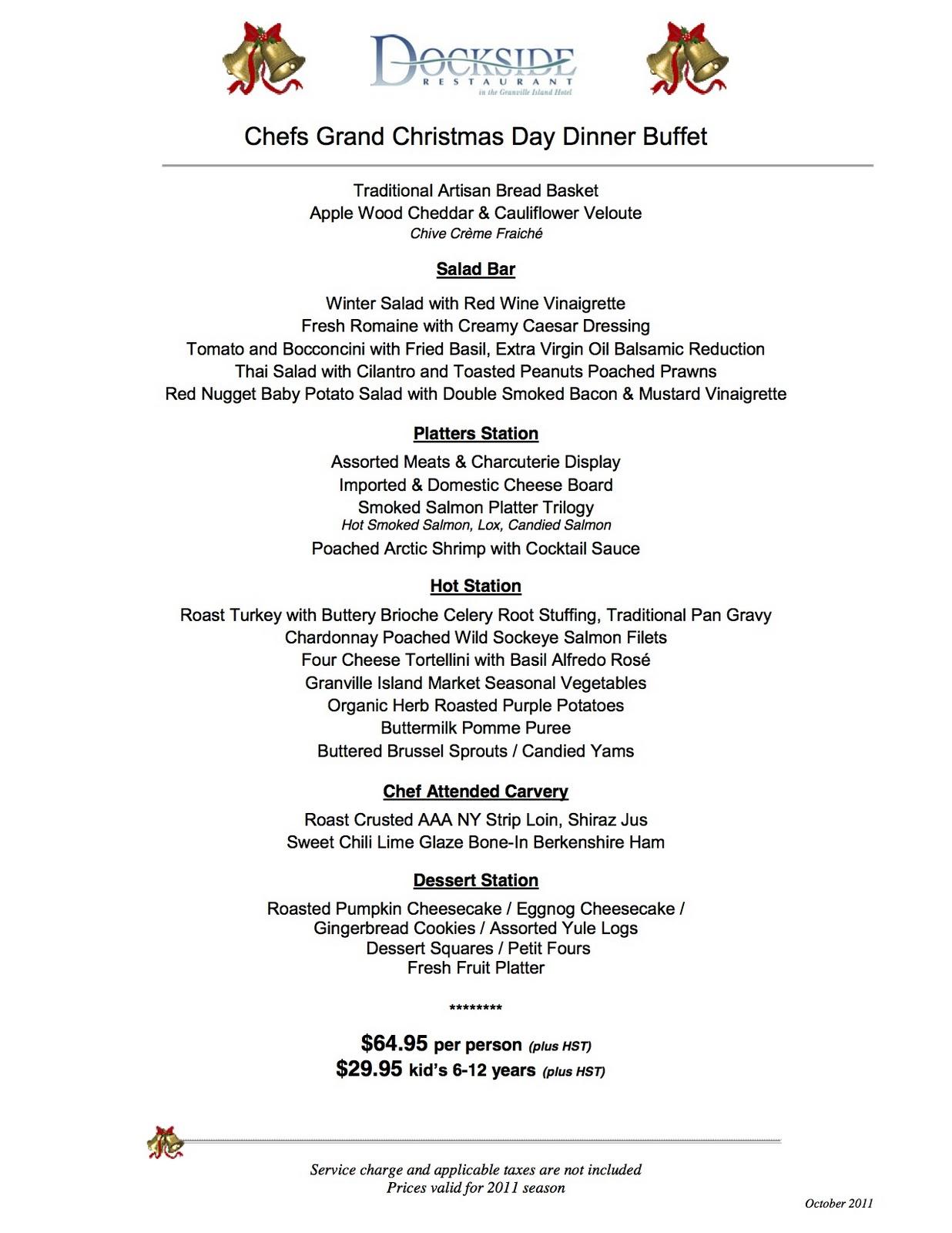 Christmas Buffet Menus.A Christmas Story Dinner Menu Thecannonball Org