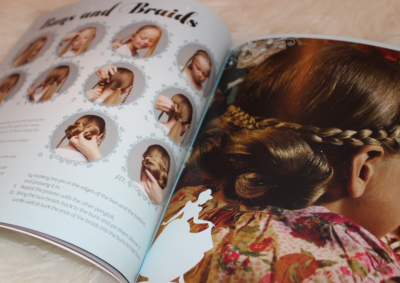 BOOK REVIEW: DISNEY STEP-BY-STEP HAIRSTYLES WITH IMAGES