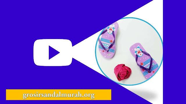 grosirsandalmurah.org - Sandal Anak - AMX Karakter Anak Cewek