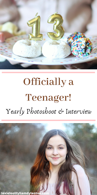 A 13th Birthday Interview and Photoshoot
