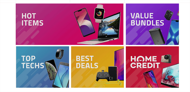 Take advantage of the best deals