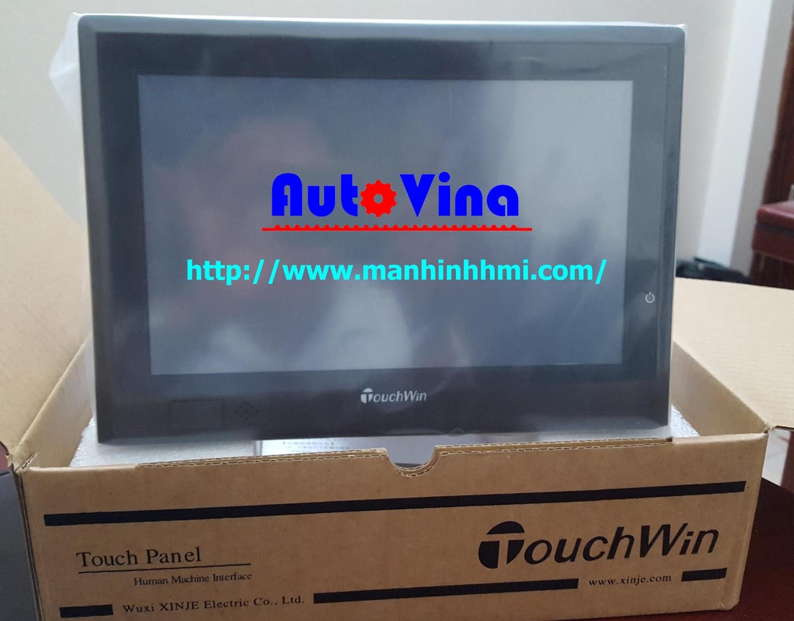 Đại lý bán màn hình cảm ứng HMI TGA62-MT, màn hình HMI TouchWin Xinje giá rẻ