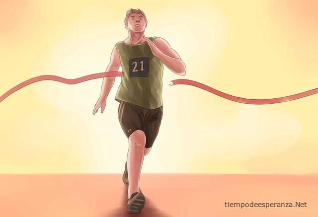 Atleta corriendo - Alcanzar tus metas