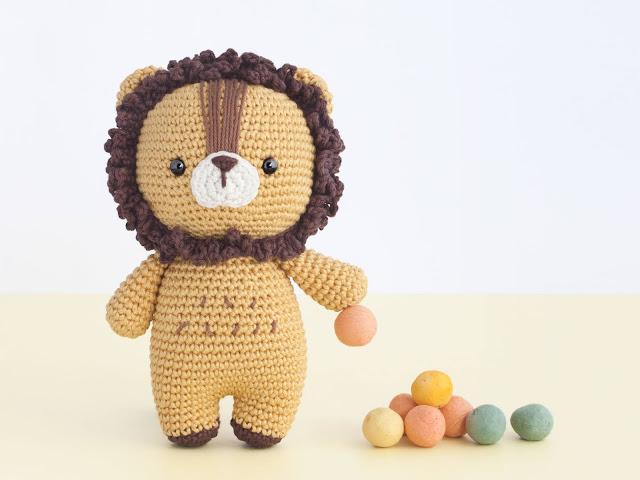 amigurumi-lion-leon-leo-zodiaco