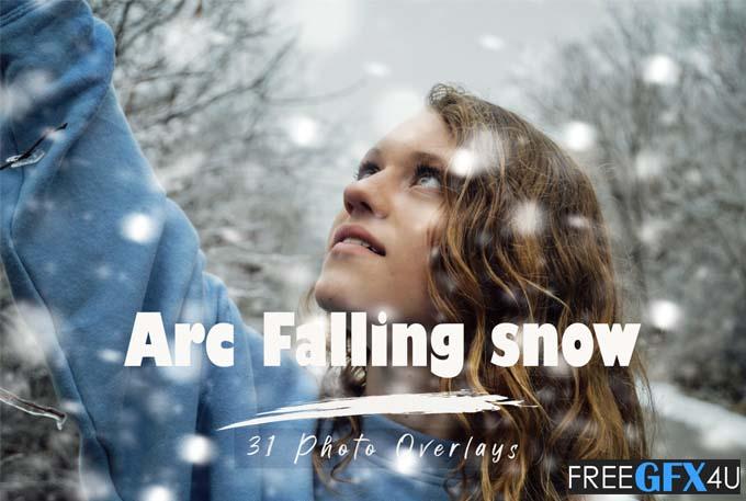 31 Arc Fall Snow Realistic Snow