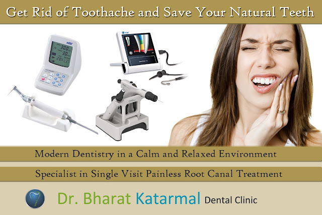 Root canal treatment at Dr. Bharat Katarmal Dental Clinic Jamnagar