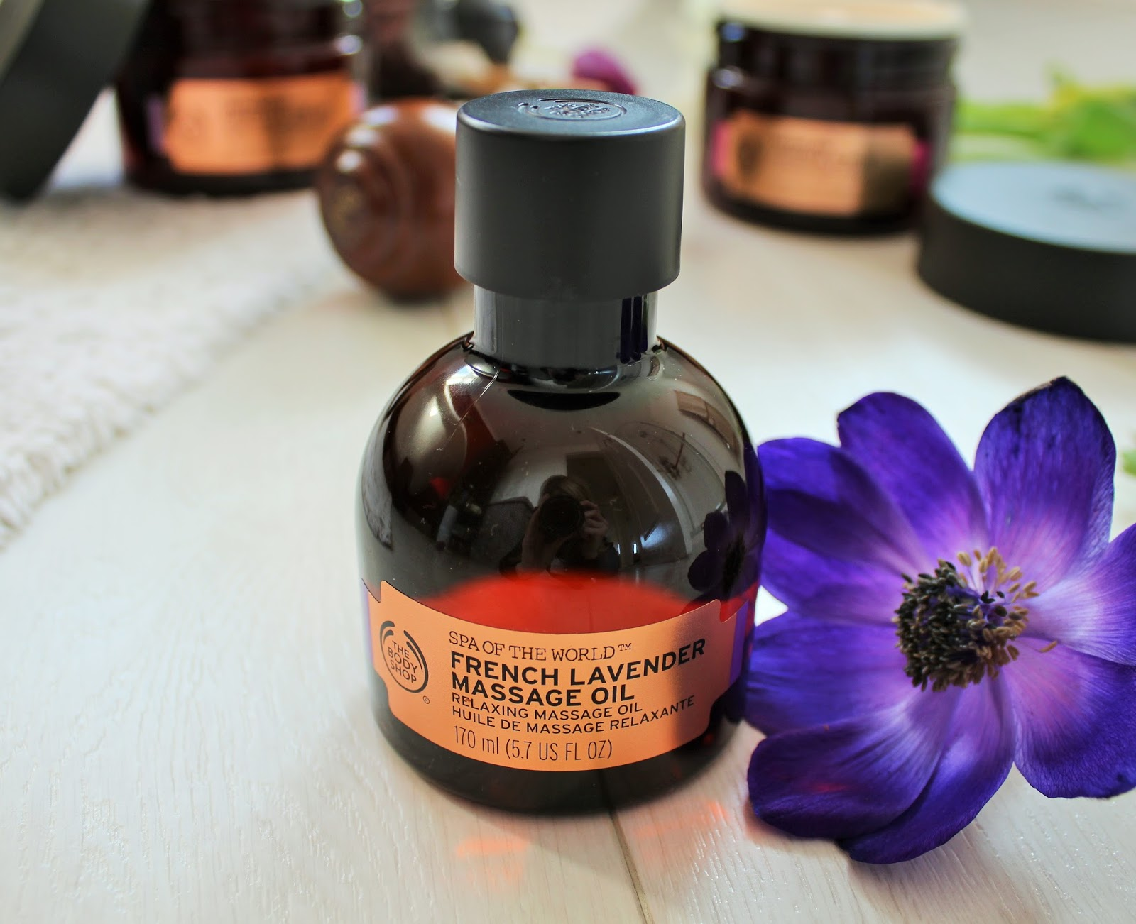 The Body Shop Spa of the World Range - 6 - French Lavender Massage Oil