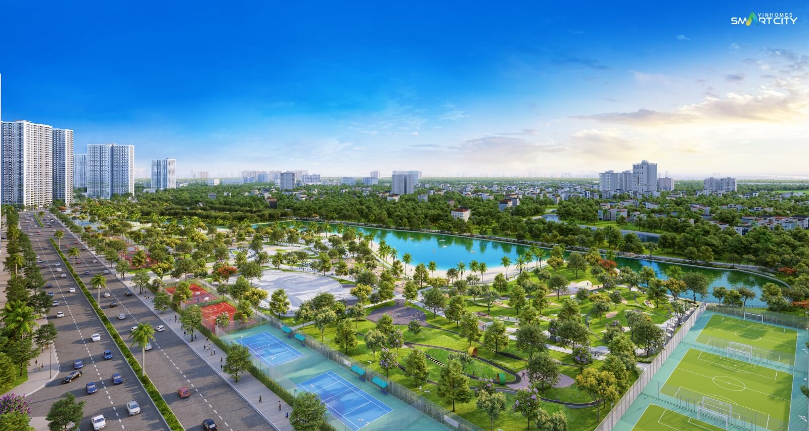 Vinhomes Smart City - Đô thị thông minh Quốc tế đáng sống phía Tây