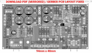 PCB Layout Subwoofer Controller Low Pass Filter
