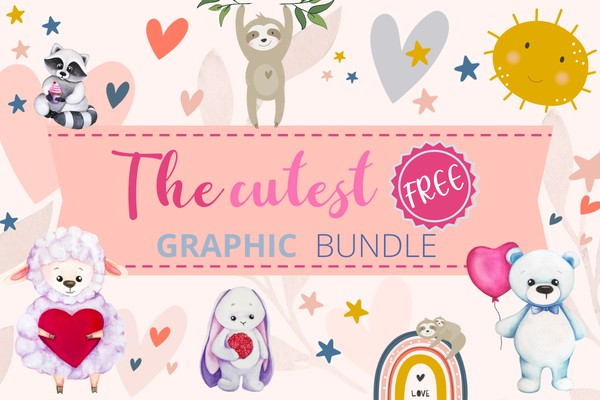 The Cutest Free Graphic Bundle