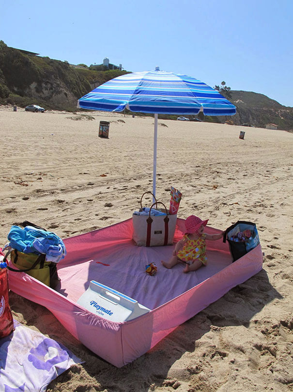 18 Hilarious Hacks Prove That Some Parents Are Geniuses - Great Parenting Tips For The Beach