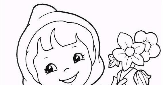 Dibujos De Caperucita Roja Para Colorear E Imprimir: Dibujos De Caperucita Roja Para Colorear Dibujos Animados