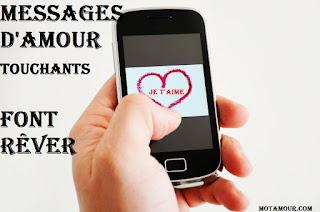 Messages d'amour touchants font rêver