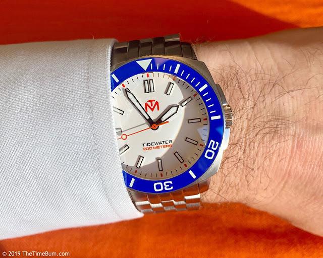 McDowell Time Tidewater wrist