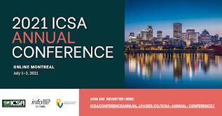 ICSA Conference 2021 Montreal Virtual - Workshops