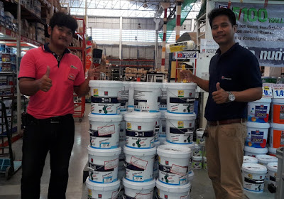 Buriram Nippon Interior House Painters Discount Delivery
