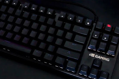 digital alliance meca warrior mechanical keyboard terbaik termurah