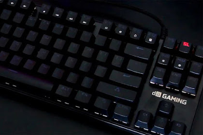 Meca Warrior - Mechanical Keyboard Termurah Pilihan Pemula