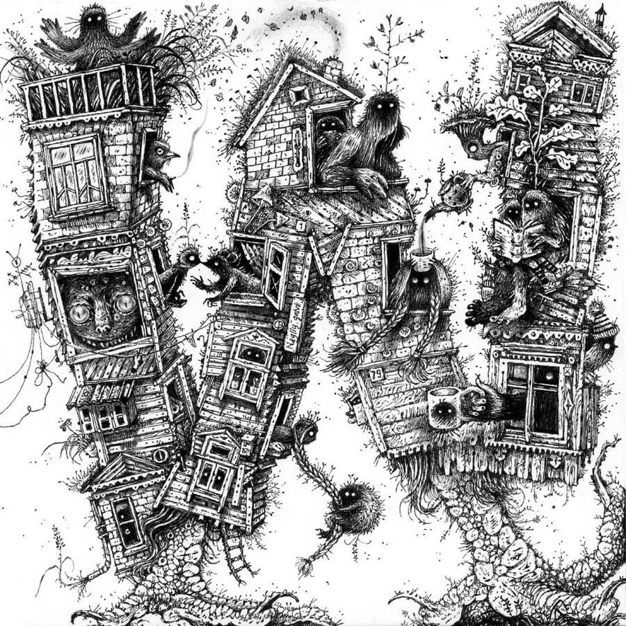 02-W-Monsters-Houses-Monika-Mitkute-www-designstack-co