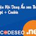Share CODE Hiện Nội Dung Ẩn Sau Thời Gian Chờ JS + Cookie Hay