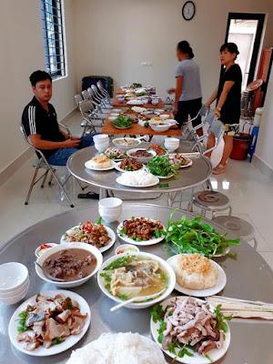 dịch vụ nấu cỗ tại Cát Linh- Đống Đa