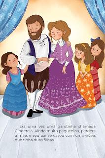 História Cinderela (Conta Pra Mim) para Imprimir Grátis