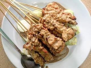 Sate blater makanan khas purbalingga