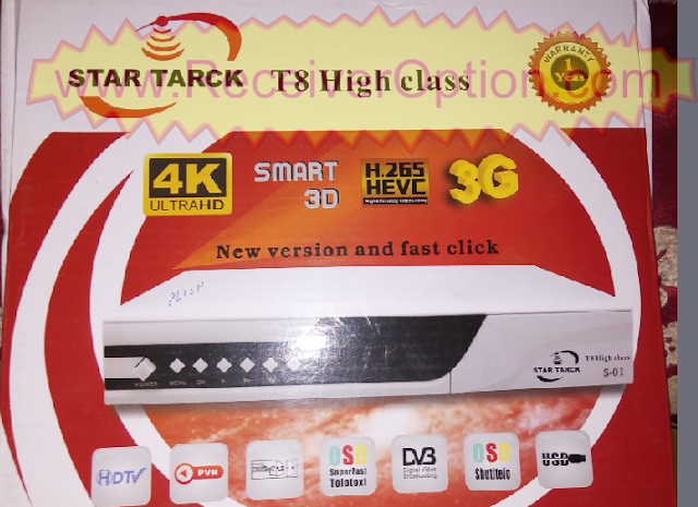 STAR TARCK T8 HIGH CLASS HD RECEIVER NEW SOFTWARE WITH E VISION & XTREAM IPTV