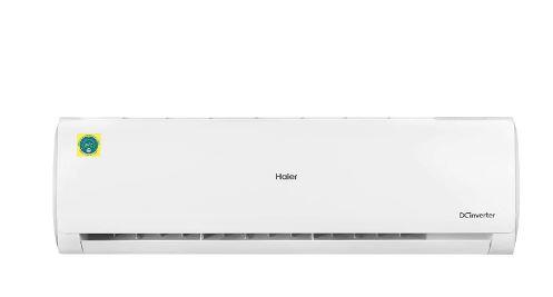 Haier 1.5 Ton 5 Star Inverter Split AC (Copper, High Density Filter, 2020 Model, HSU19C-TFW5B(INV), White)