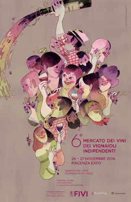 Mercato dei vini fivi: una festa di incontri  26 - 27 novembre Piacenza