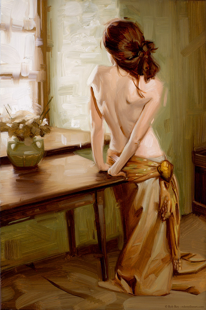 Olive Nude by Rob Rey - robreyfineart.com