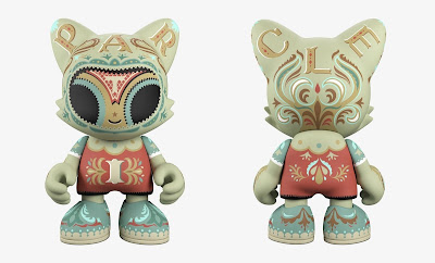 Particle Superjanky Vinyl Figure by Jason Limon x Superplastic