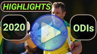 2020 ODI Cricket Matches Highlights Videos
