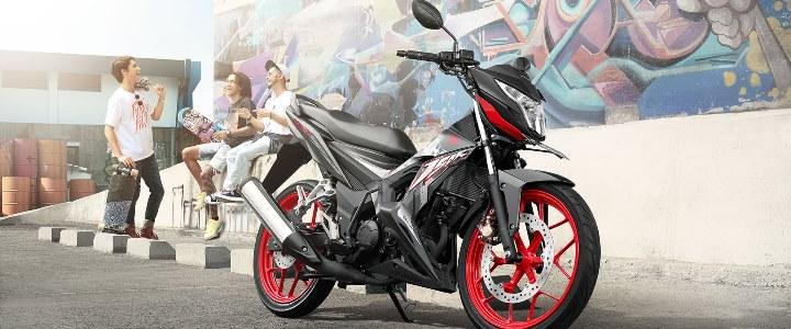 SONIC 150R SPESIAL EDITION 2018 Anisa Naga Mas Motor Klaten Dealer Asli Resmi Astra Honda Motor Klaten Boyolali Solo Jogja Wonogiri Sragen Karanganyar Magelang Jawa Tengah.